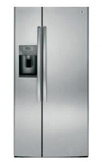 【得意家电】美国 GE 奇异 GSS23HSSS 对开门冰箱(702L) ※热线07-7428010