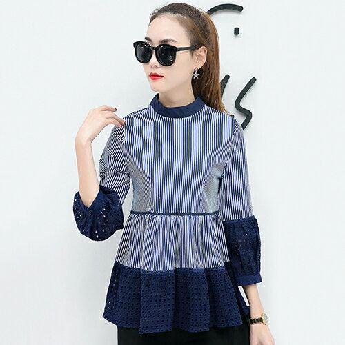 時尚寬鬆娃娃衫顯瘦T恤打底衫(4色S~2XL) 【OREAD】 3