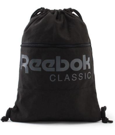 REEBOK CL FO GYMSACK 背包 後背包 手提 黑【運動世界】BP8199