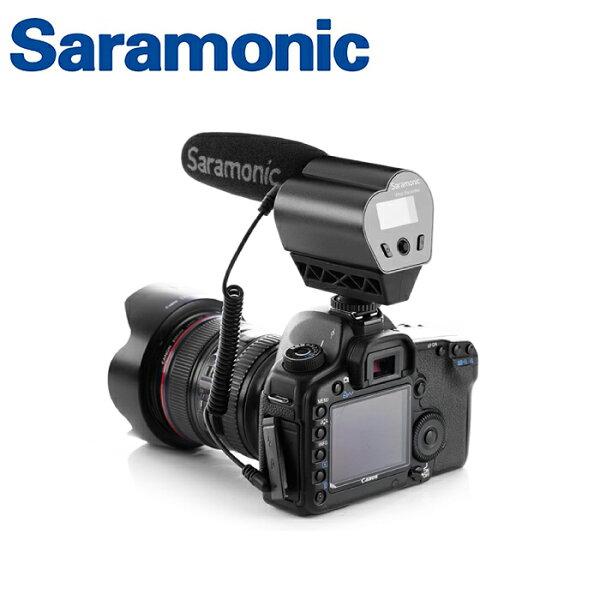 ◎相機專家◎Saramonic超指向性電容式麥克風VmicRecorder廣播級監聽獨立錄音公司貨