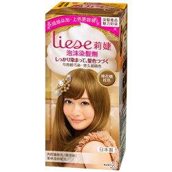 Liese 莉婕 泡沫染髮劑 魅力彩染系列 棉花糖棕色