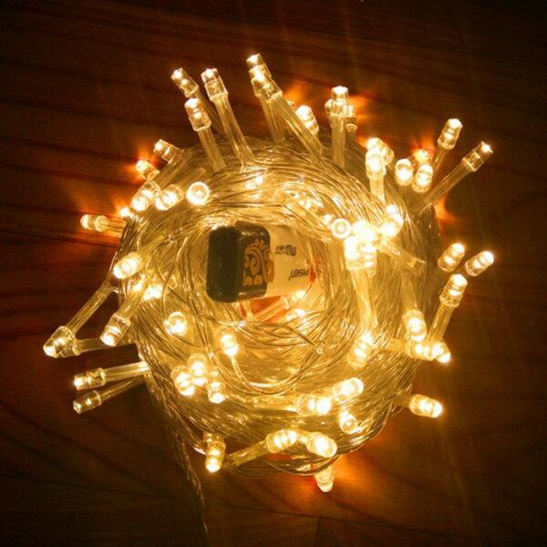 糖衣子輕鬆購【DZ0417】LED彩燈戶外活動節慶防雨水彩燈滿天星燈串婚慶聖誕節布置10米100燈