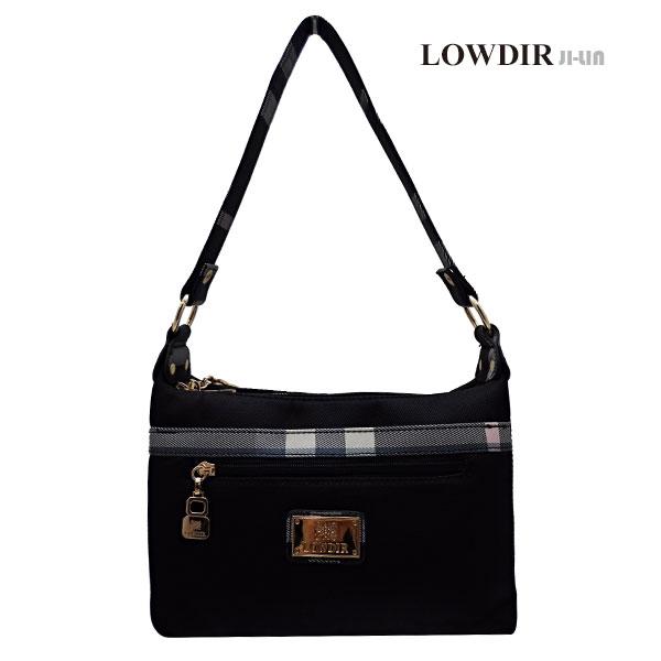5-J6289【LOWDIR 露蒂兒】極簡黑白格子紋女包 (二用)