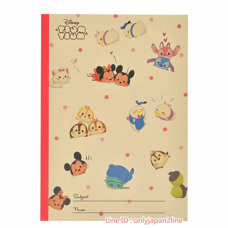 【真愛日本】17021300020日本製專賣店B5筆記本-TSUM DN+BAA   迪士尼專賣店限定    文具用品 便條紙  筆記本