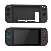 Nintendo Switch Starter Kit - Black Screen Protector with Case, Perfect For Your Console, Video Game Accessories Kit
