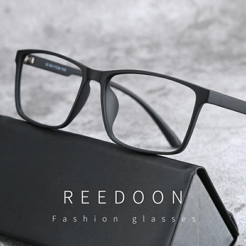 防藍光輻射電腦眼鏡男韓版女黑色眼鏡框明星