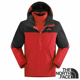 The North Face 男 Gore-tex 兩件式防水保暖羽絨外套『紅』 CTS2
