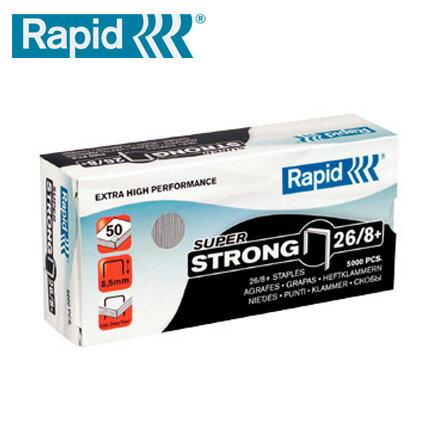 RAPID 瑞典 26/8+ 1MG 強力訂書針  10小盒 / 組