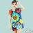 【Milida,全店七折免運】-夏季尾聲-一字領-造型花朵洋裝 0