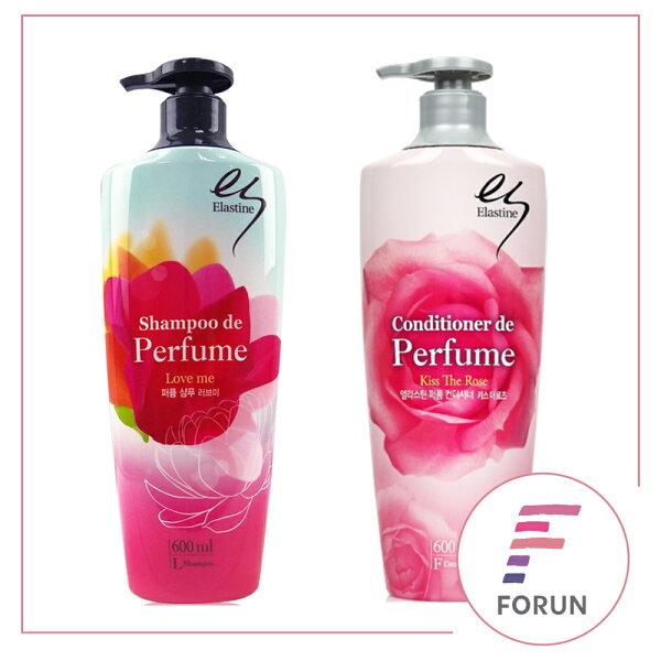 FORUN BEAUTY:韓國Elastine奢華香水洗髮精潤髮乳600ml