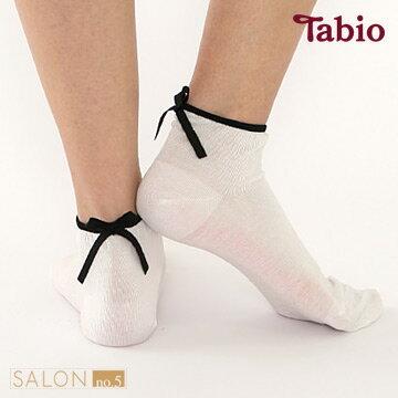 日本靴下屋Tabio微透感蝴蝶結短襪 - 限時優惠好康折扣