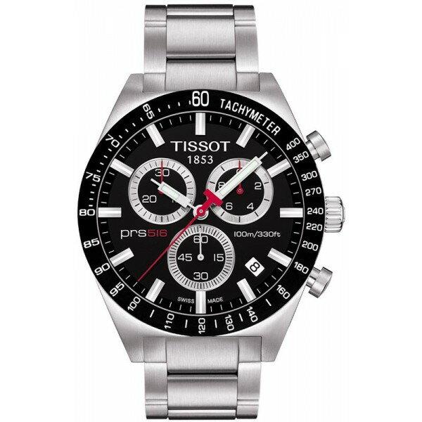 TISSOT天梭T0444172105100賽車PRS516計時腕錶/黑面42mm