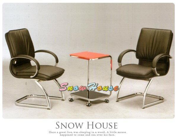 ╭☆雪之屋居家生活館☆╯AA325-02QG-011C造型椅(電鍍黑皮)(單張)辦公椅會議椅電腦椅不含桌子