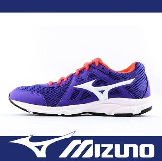 萬特戶外運動 MIZUNO 美津濃 K1GA170415 女慢跑鞋 SPARK 2 耐磨大底 透氣 舒適 慢跑 步行 輕運動 紫色
