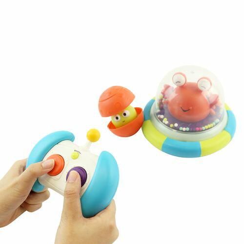 美國【B.Toys】迴轉遙控車-卡特撞木星(遙控器顏色款式為隨機出貨)★愛兒麗婦幼用品★