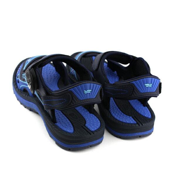 GP (Gold.Pigon) 阿亮代言 涼鞋 防水 雨天 藍色 男鞋 G8655M-20 no953 1