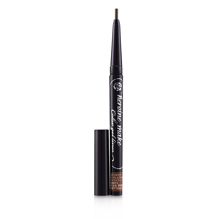 KISS ME Heroine Make Color Gel Liner Super Waterproof - # 02 Pink Brown 0.1g 0.004oz