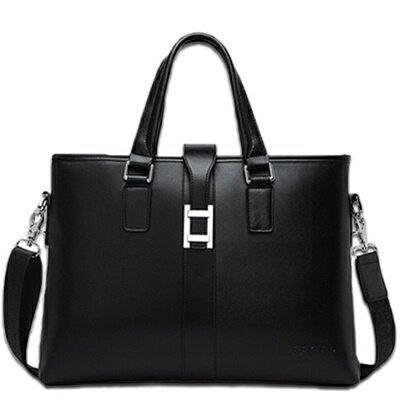 ☆公事包真皮手提包-歐美風格高級時尚男包包3款73io1【獨家進口】【米蘭精品】