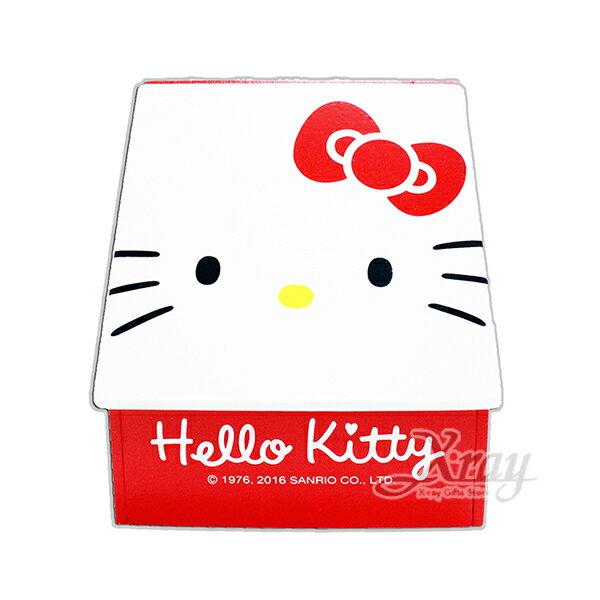 X射線【C381923】HelloKitty 大臉掀蓋盒,置物櫃/收納櫃/收納盒/抽屜收納盒/木製櫃/木製收納櫃/收納箱/桌上收納盒