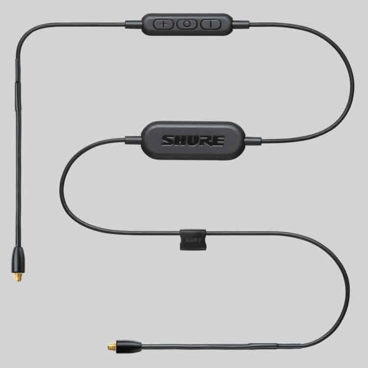 <br/><br/>  志達電子 RMCE-BT1 美國 SHURE  帶有線控和話筒功能的藍牙?通訊配件線纜 (富銘公司貨)<br/><br/>
