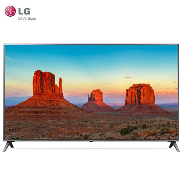 LG樂金75UK6500PWB電視75吋UHD4KIPS硬板(客訂商品)