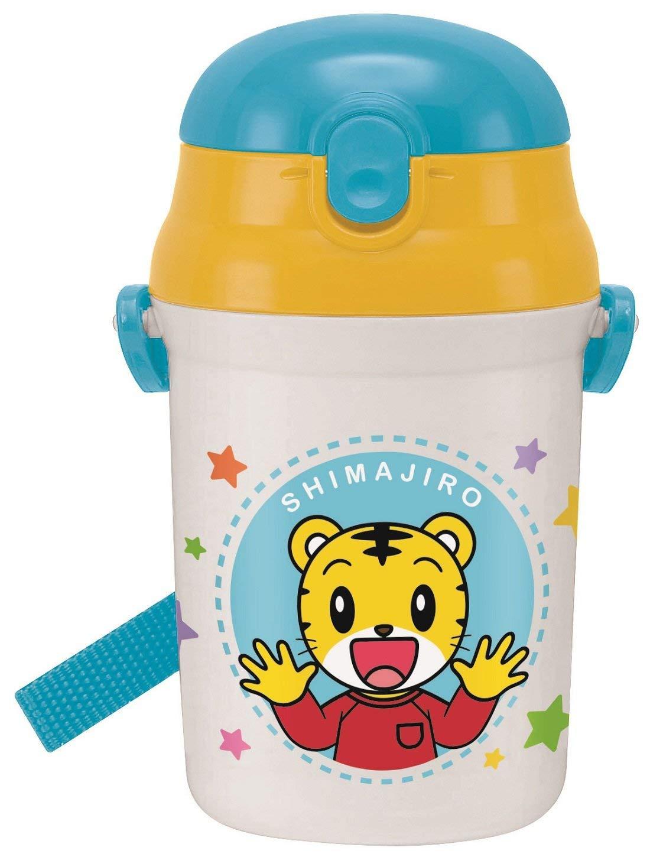 X射線【C367823】巧連智 巧虎 塑膠吸管水壺340ml,水杯/兒童水壺/水壺/吸管水袋/彈跳水壺