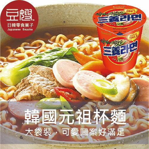 【豆嫂】韓國泡麵 SAMYANG 三養元祖杯麵