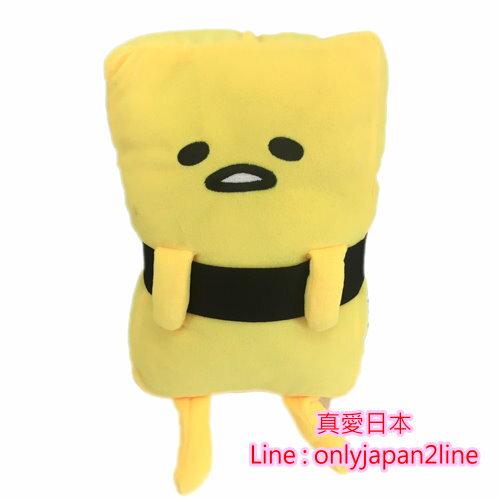 【真愛日本】16091500009壽司蛋黃哥  三麗鷗家族 蛋黃哥 Gudetama  抱枕  娃娃