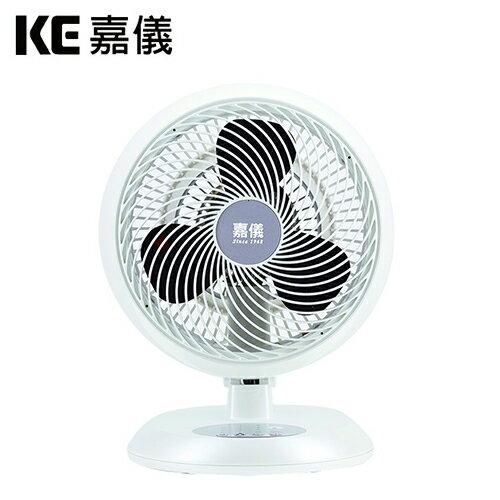 KE嘉儀|10吋旋風循環扇潔淨白KEF1040W【三井3C】