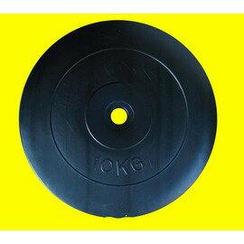 【Fitek 健身網】☆10公斤槓片啞鈴☆10KG水泥槓片☆舉重重量訓練適用㊣台灣製