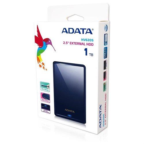 ADATA HV620S Slim USB 3.0 External HDD 1TB Navy Blue (AHV620S-1TU3-CBL) 2
