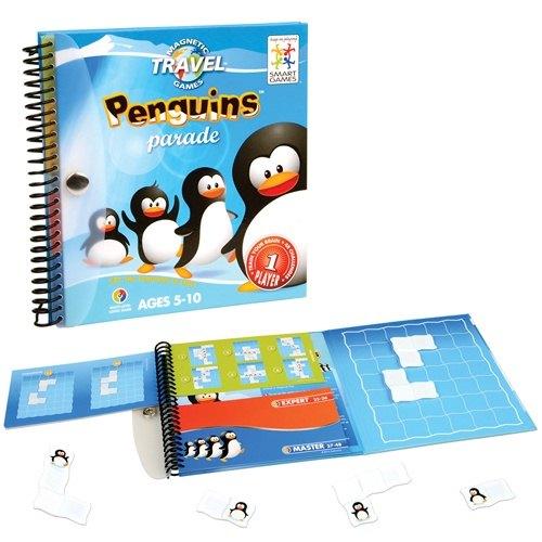 《 信誼 - Smart Games 》魔磁隨身遊戲 - 企鵝大遊行