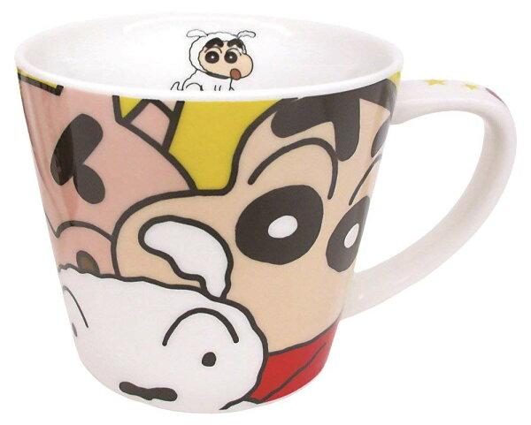 X射線【C016778】蠟筆小新馬克杯260ml,水杯馬克杯杯瓶茶具湯杯玻璃杯不鏽鋼杯漱口杯