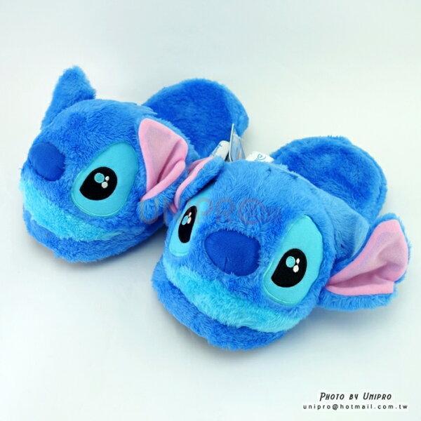 【UNIPRO】迪士尼正版大眼史迪奇Stitch立體保暖室內拖鞋毛拖保暖拖鞋布拖迪士尼正版授權禮物