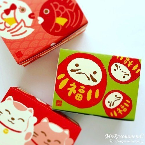 Ariel's Wish-桂新堂日本百年老店仙貝濃郁酥脆海老鮮蝦仙貝餅乾期間限量款-福到幸運不倒翁禮盒組-新年禮品-現貨