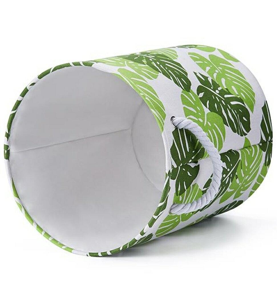 收納籃可折疊臟衣收納桶棉麻布藝收納籃洗衣簍 維多原創