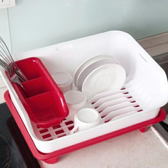 ♚MY COLOR♚餐具瀝水收納架 單層  碗盤 杯子 筷子 湯匙 叉子 瀝乾 清潔 蔬菜