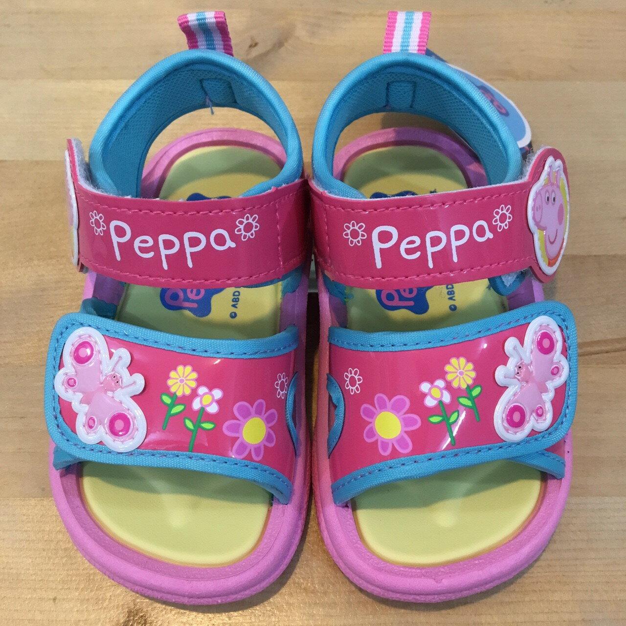 【禾宜精品】佩佩豬 學步鞋 休閒鞋 運動鞋 涼鞋 正版授權 台灣製造 14~18 童鞋 MIT 台灣製造