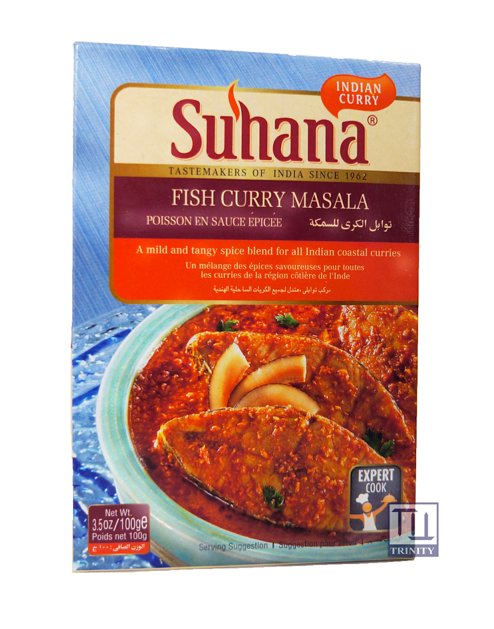 Suhana Fish Curry Masala 印度香料粉 (煮魚/ 海鮮用)