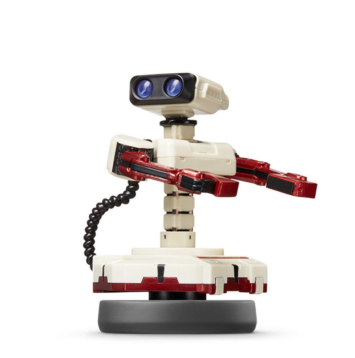 Amiibo 機器人 Robot 互動 Wii U/New3DS/New3DS LL 公仔 任天堂明星大亂鬥系列