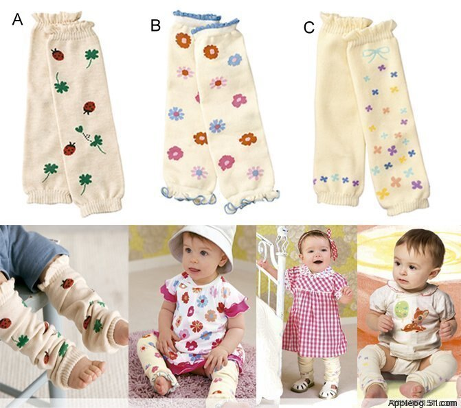 小女生3款保暖襪套【A027】