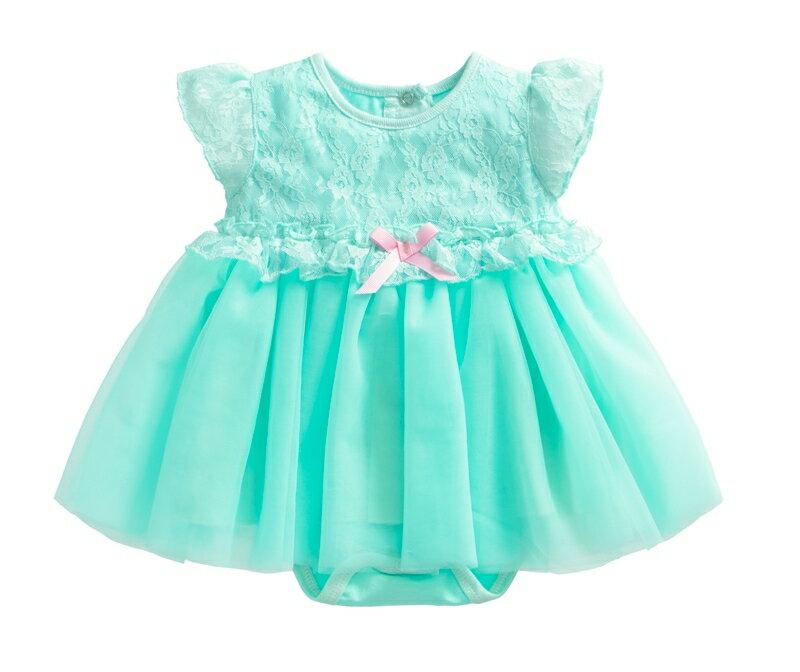 ~傑媽 ~小公主華麗紗裙款連身裙~綠色~10055~3~