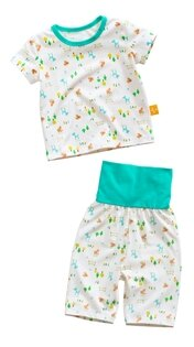 童裝現貨純棉護肚短袖七分褲套裝-07小鹿狐狸【71031】