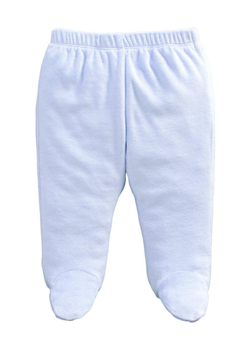 ☆傑媽童裝☆保暖天鵝絨寶寶包腳褲-淡紫色【84079-5】