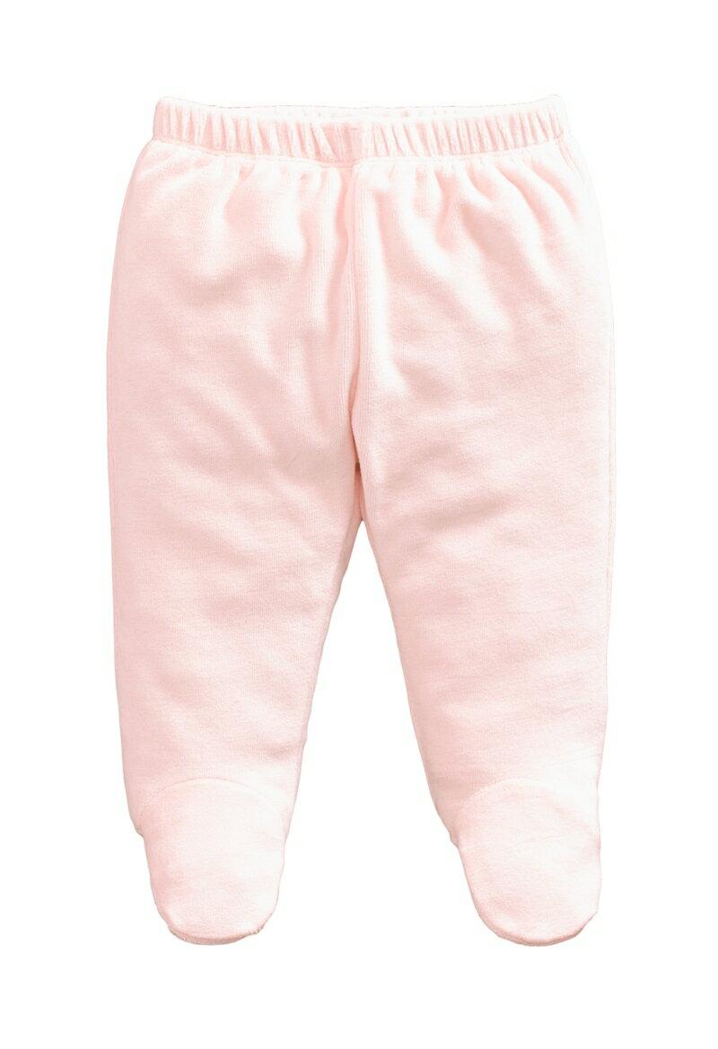 ☆傑媽童裝☆保暖天鵝絨寶寶包腳褲-淡粉色【84079-6】