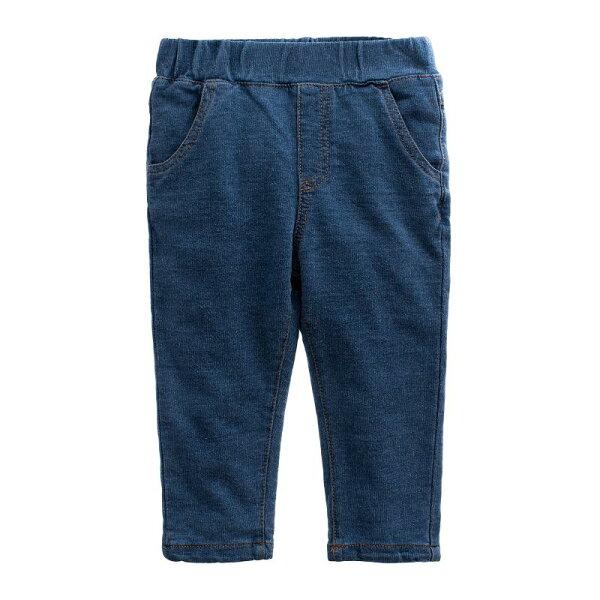 童裝現貨純棉針織柔軟長牛仔褲-B款淺色【54245】