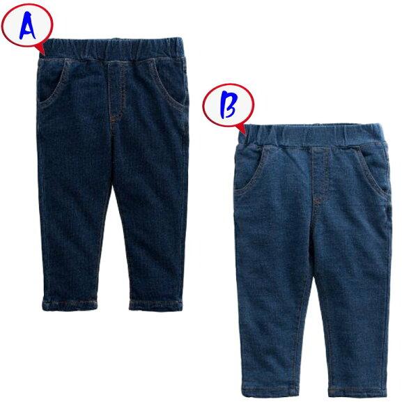 童裝現貨純棉針織柔軟長牛仔褲【54245】