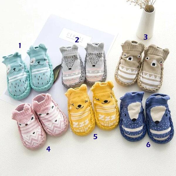 童裝現貨韓版立體嬰兒防滑鞋襪地板襪-腳長12cm以內可穿【W301】