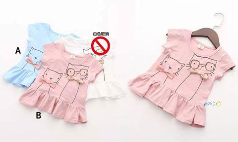 現貨95%棉小豬裙式上衣洋裝【57389】