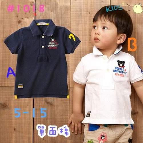 童裝現貨單棉可愛熊熊polo衫【10411】